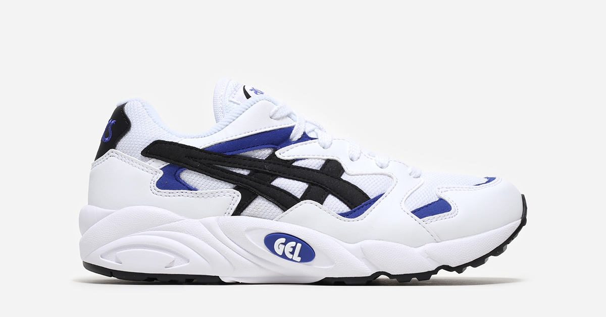 Asics Gel Diablo White Black