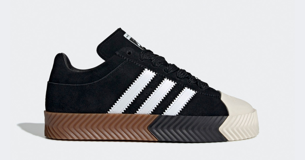 AW x Adidas Skate Super Core Black G28385
