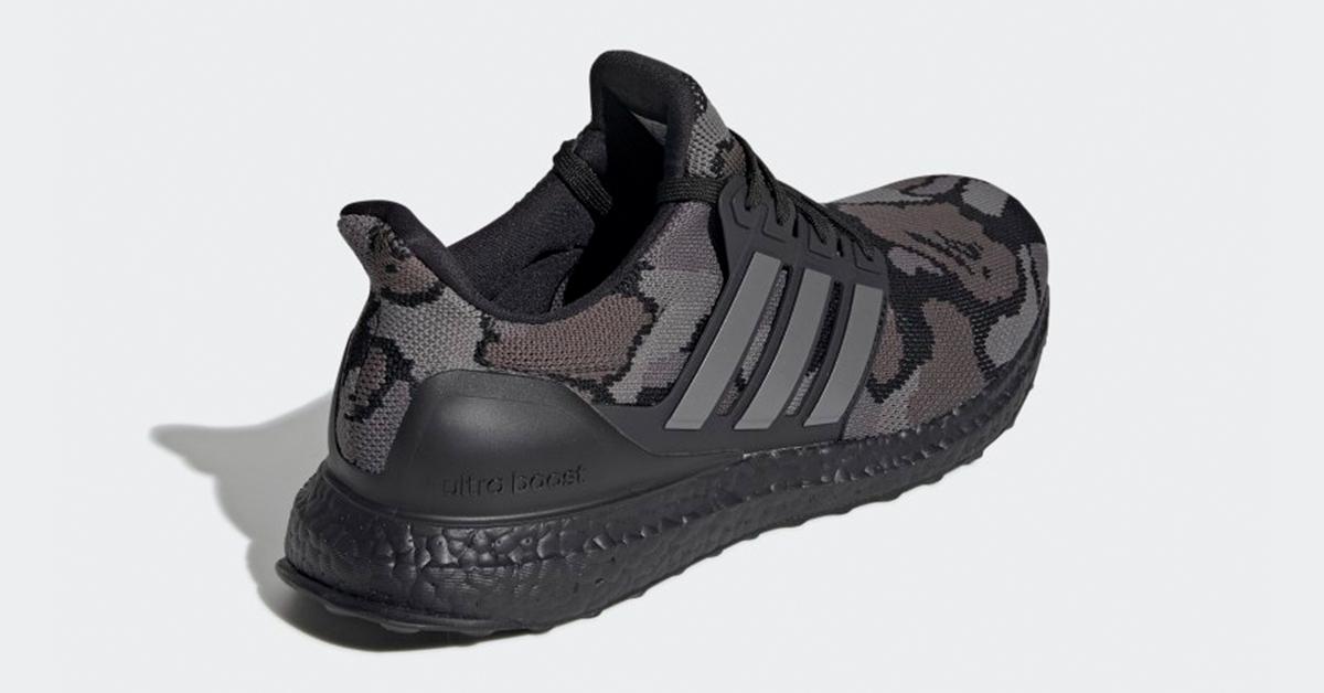 BAPE x Adidas Ultra Boost Black Camo G54784
