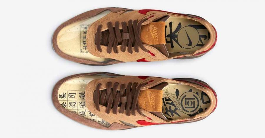 CLOT x Nike Air Max 1 Kiss of Death CHA DD1870-200