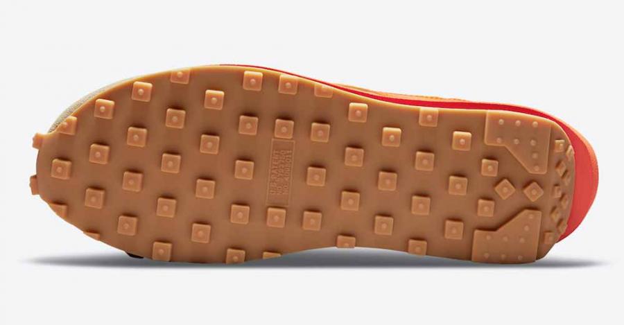 Clot x Sacai x Nike LDWaffle Orange DH1347-100