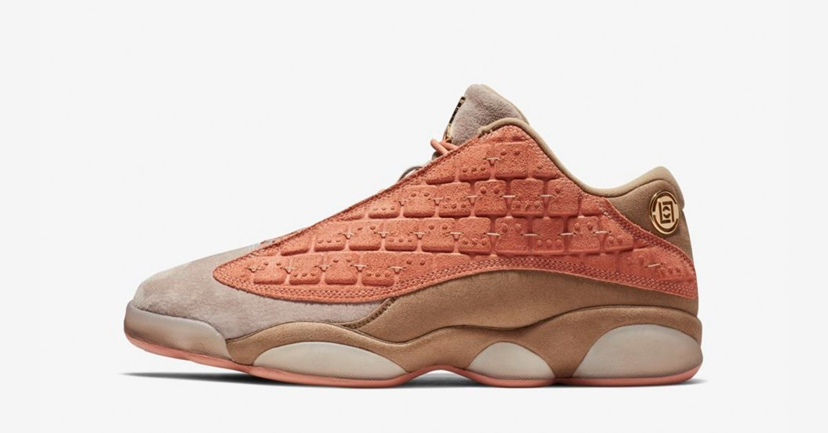Clot x Nike Air Jordan 13 Low