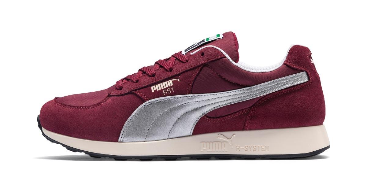 David Obadia x Puma RS-1 Rød 369369-01