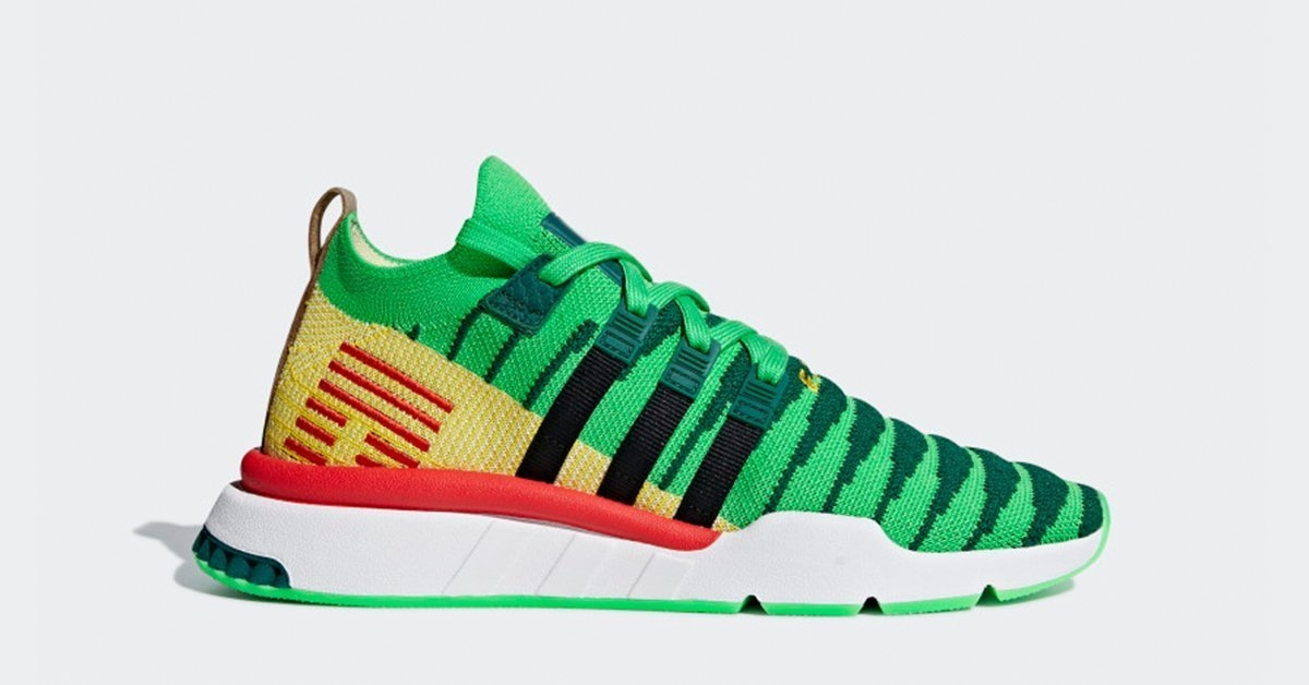 Dragon Ball Z x Adidas EQT Support Mid ADV D97056