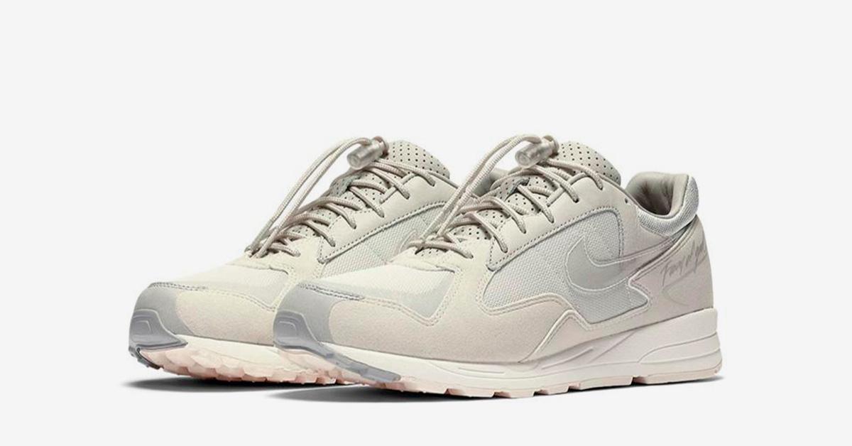 Fear of God x Nike Air Skylon 2 Light Bone Cool Sneakers