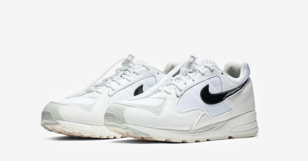 Fear of God x Nike Air Skylon 2 White Cool Sneakers