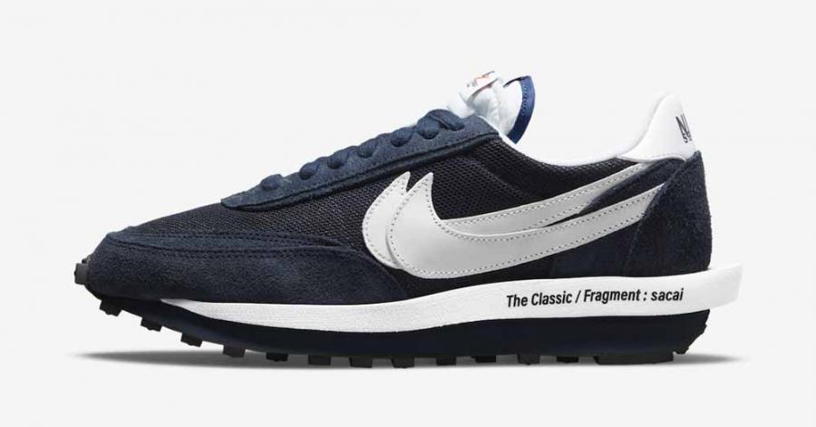 Fragment x Sacai x Nike LDWaffle Blackened Blue DH2684-400