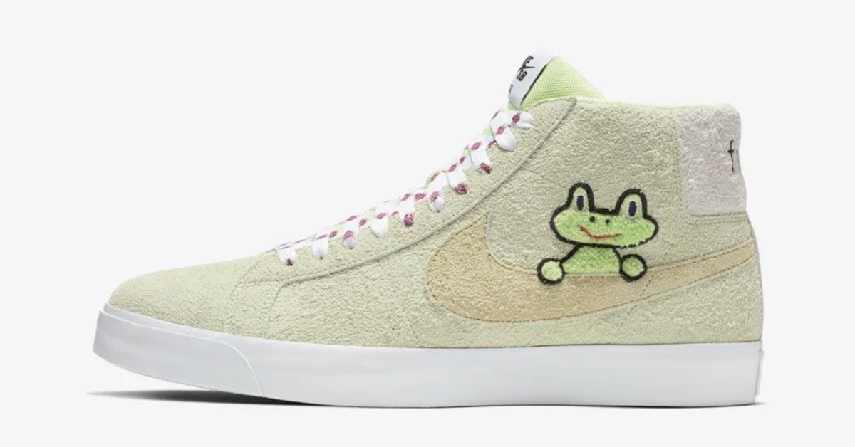Frog Skateboards x Nike SB Zoom Blazer Mid AH6158-300