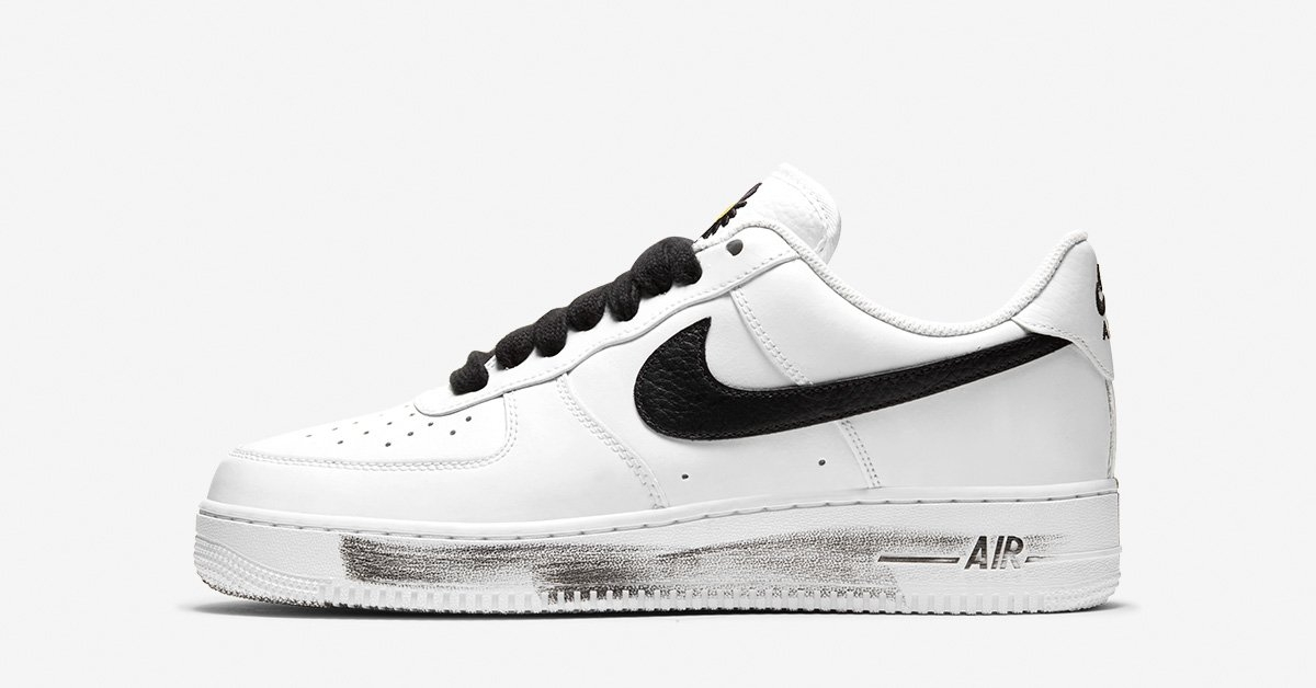G-DRAGON x Nike Air Force 1 Hvid