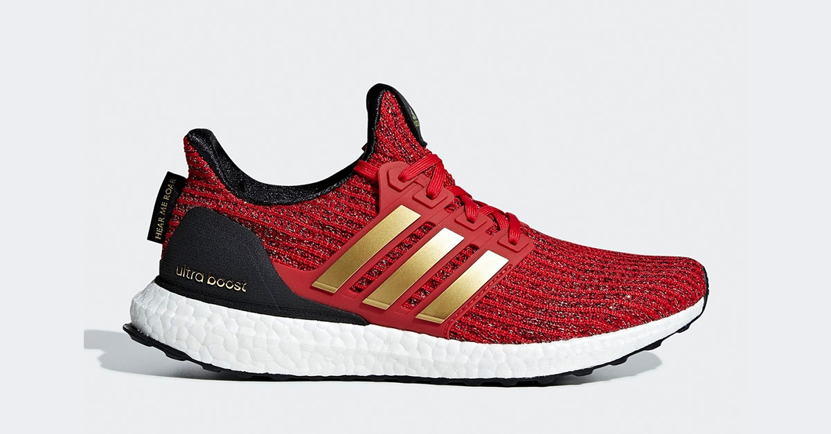 4575bf2b98d GoT x Adidas Ultra Boost Lannister - Cool Sneakers