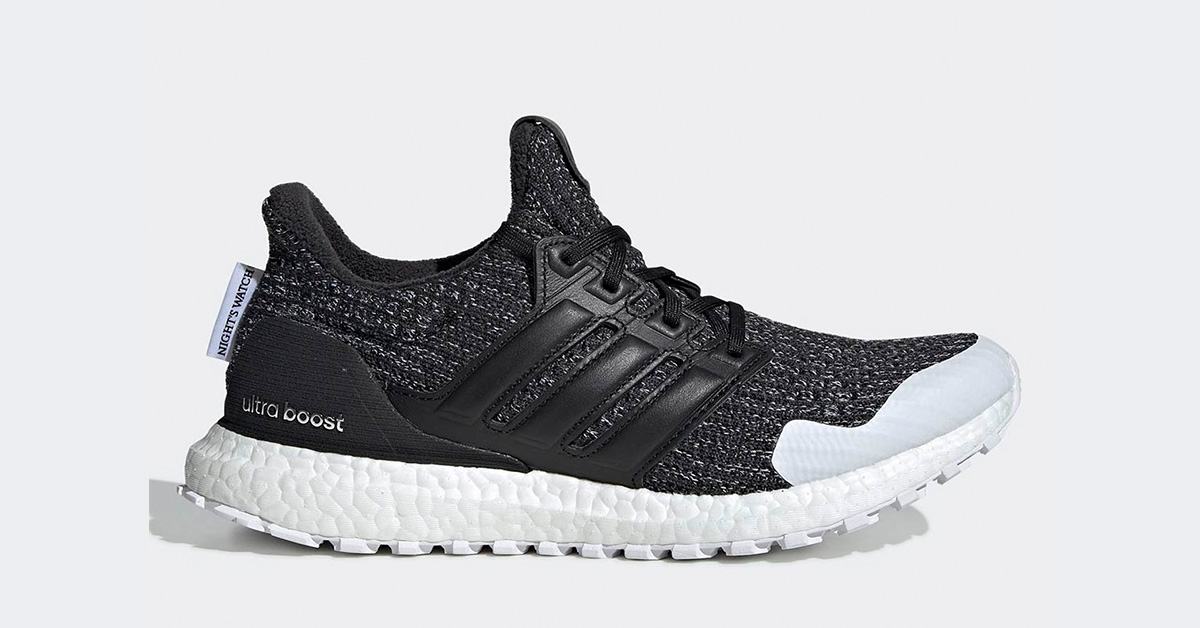 GoT x Adidas Ultra Boost Nights Watch EE3707