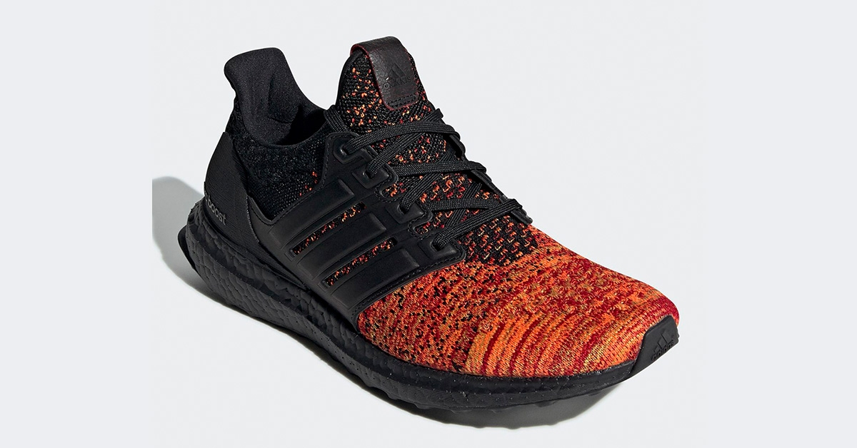 GoT x Adidas Ultra Boost Targaryan Black EE3709