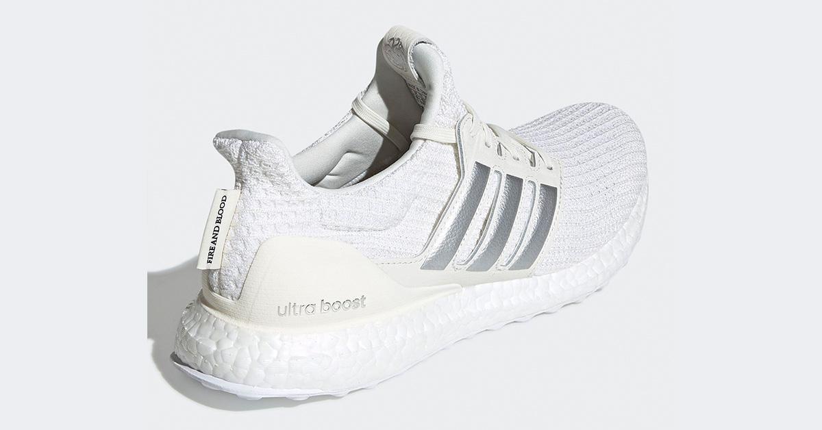 GoT x Adidas Ultra Boost Targaryan White EE3711