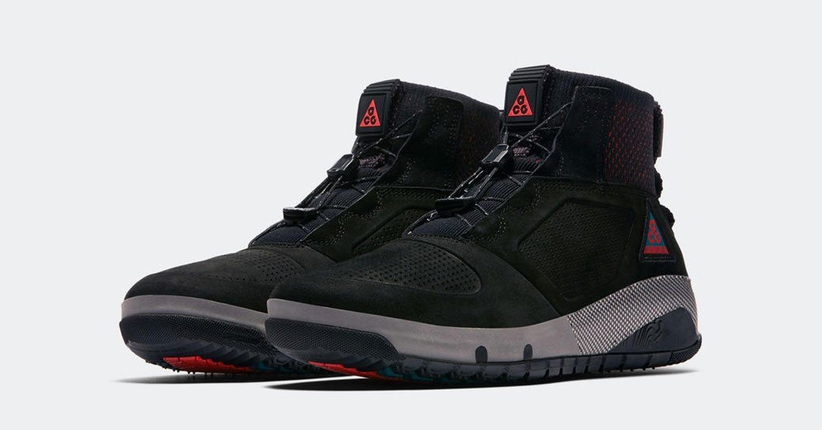 Nike ACG Ruckel Ridge Black Red AQ9333-002