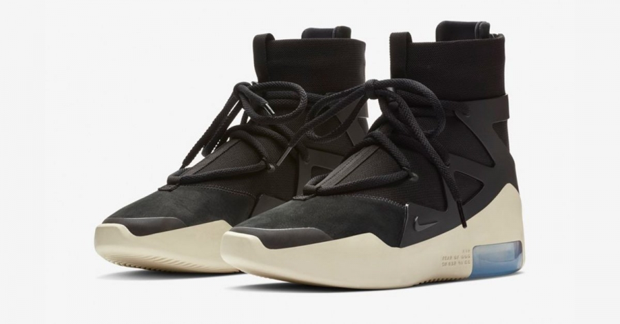 Nike Air Fear of God 1 Sort AR4237-001
