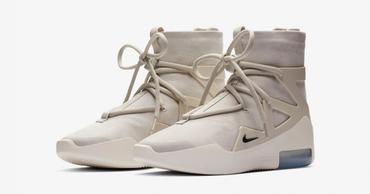 Nike Air Fear of God 1 Hvid Cool Sneakers