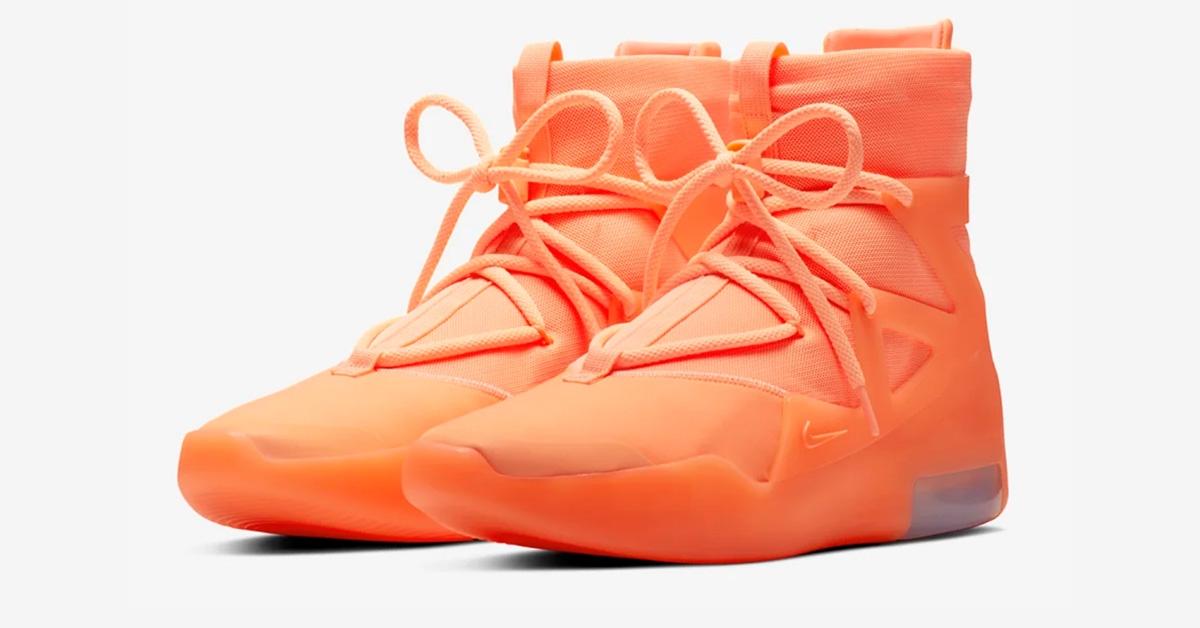 Nike Air Fear Of God 1 Orange Puls