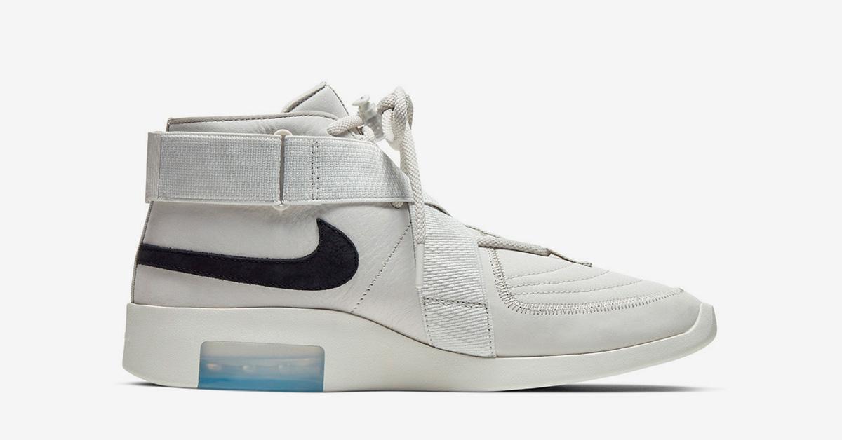 Nike Air Fear Of God Raid Light Bone Cool Sneakers