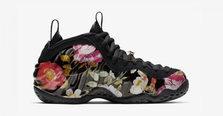 finest selection 99bce e7c64 Nike Air Foamposite One Floral til Kvinder