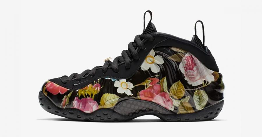 Nike Air Foamposite One Floral til Kvinder