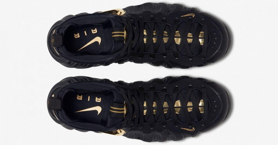 Nike Air Foamposite Pro Black Gold 624041-009