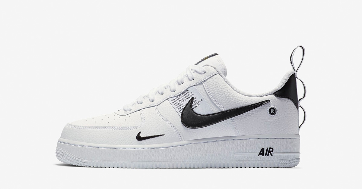 c83e05f76da95 Nike Air Force 1 07 LV8 Utility White - Cool Sneakers