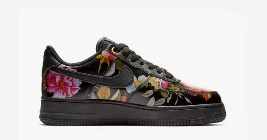 Nike Air Force 1 Floral til Kvinder