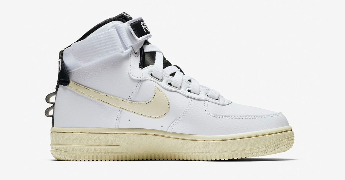 buy online add72 13e5c Nike Air Force 1 High Utility White til kvinder AJ7311-100