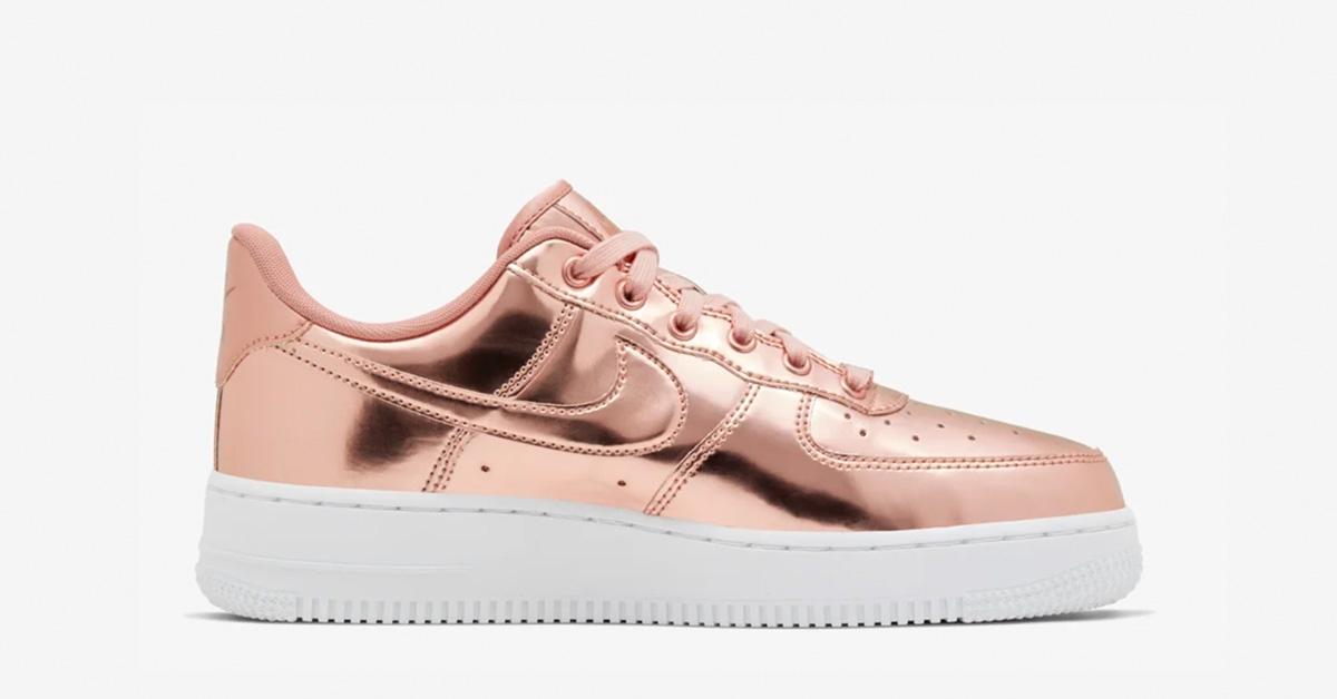 Nike Air Force 1 Low Bronze til kvinder Cool Sneakers