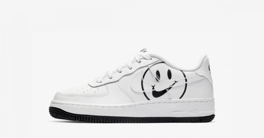 Nike Air Force 1 Low Hvid Have a Nike Day GS