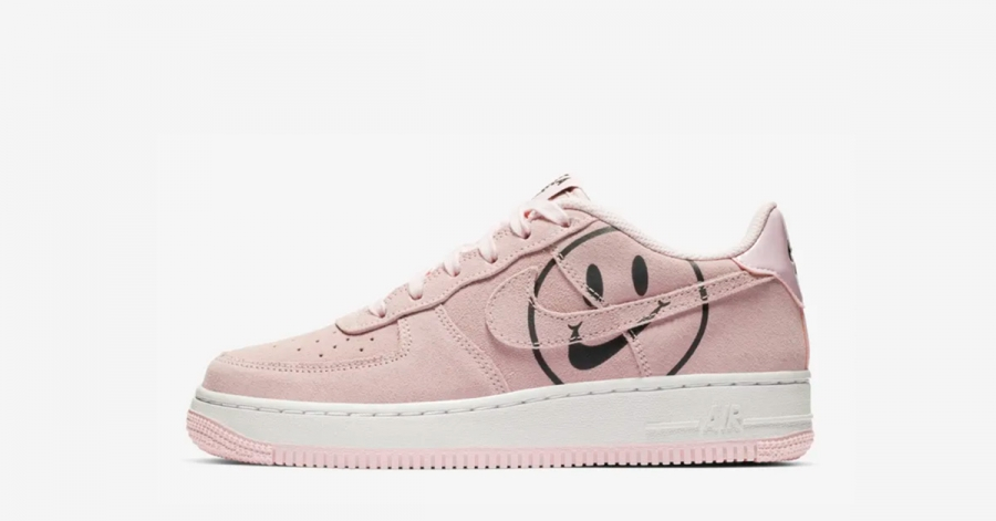 Nike Air Force 1 Low Pink Have a Nike Day GS til Børn