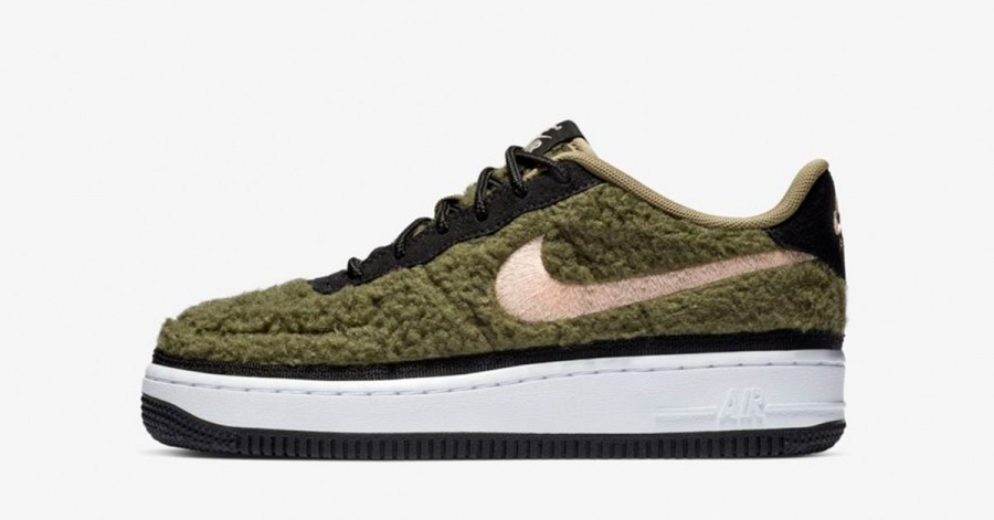 Nike Air Force 1 Low Shearling