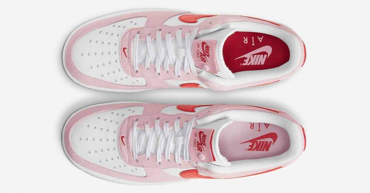 Nike Air Force 1 Low Valentines Day DD3384-600