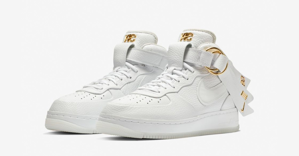 Nike Air Force 1 Mid Victor Cruz White