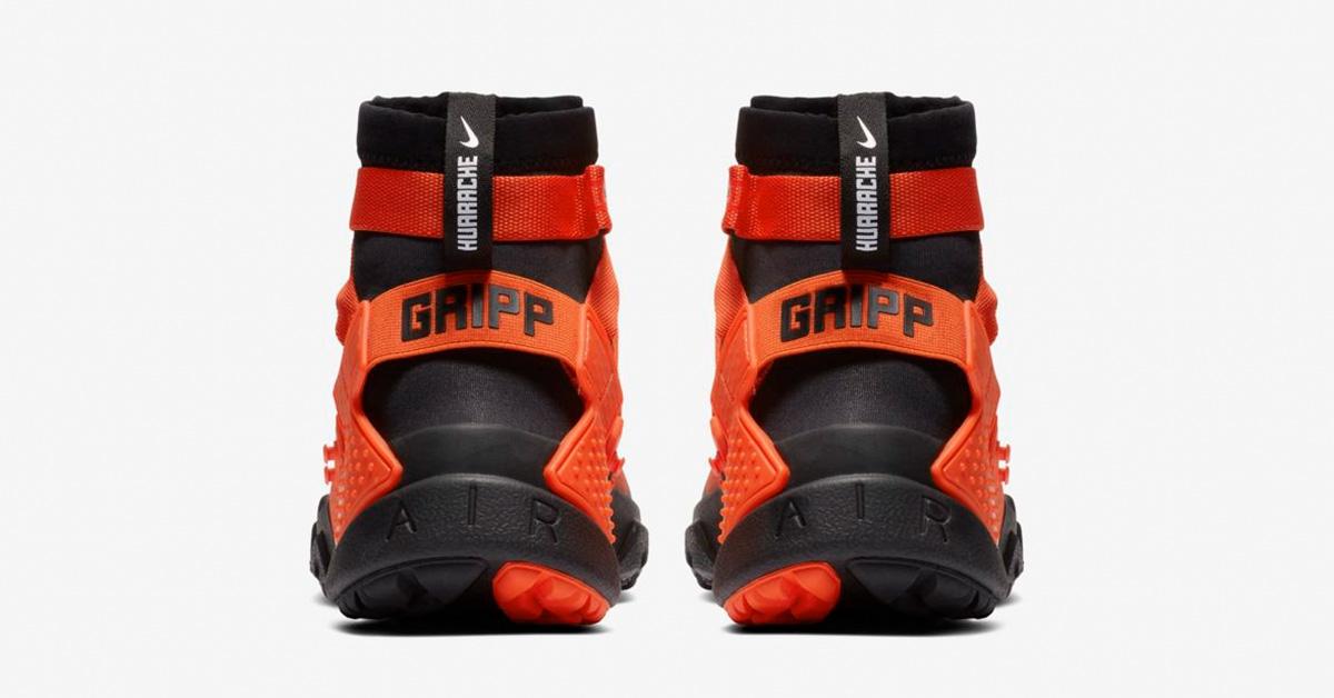 Nike-Air-Huarache-Gripp-Sort-Orange-05