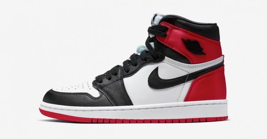 Nike Air Jordan 1 Black Toe til Kvinder
