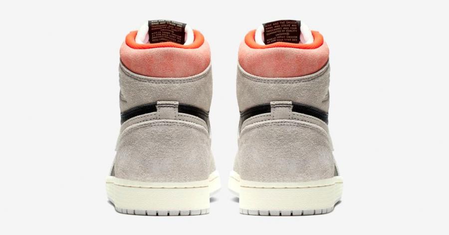 Nike Air Jordan 1 Grå 555088-018