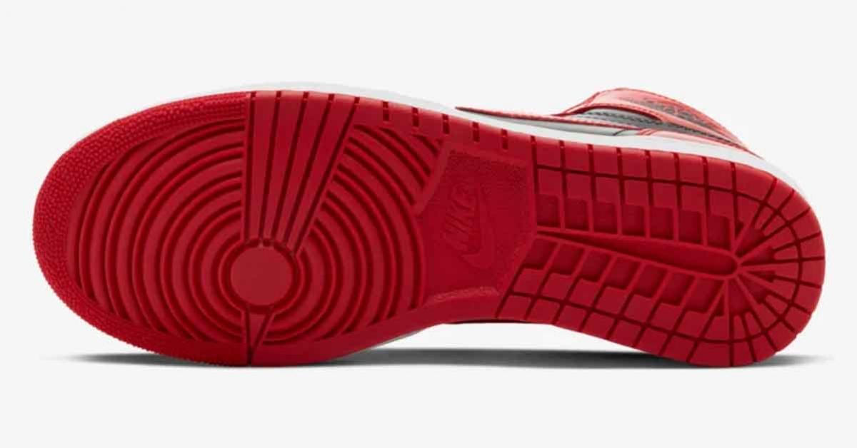 Nike Air Jordan 1 High 85 Rød Sort BQ4422-600