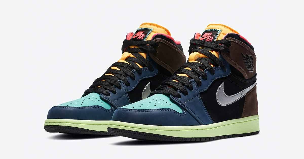 Nike Air Jordan 1 High Bio Hack 555088-201