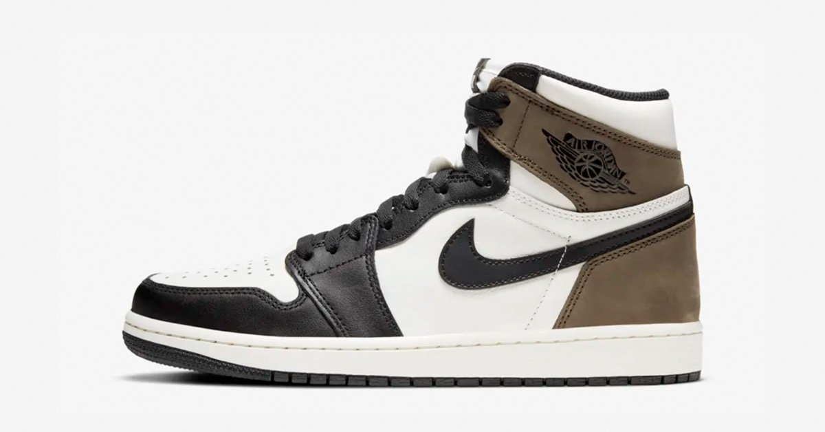 Nike Air Jordan 1 High Black Mocha 555088-105