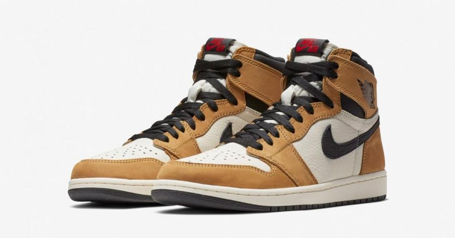 Nike Air Jordan 1 High Golden Harvest 555088-700