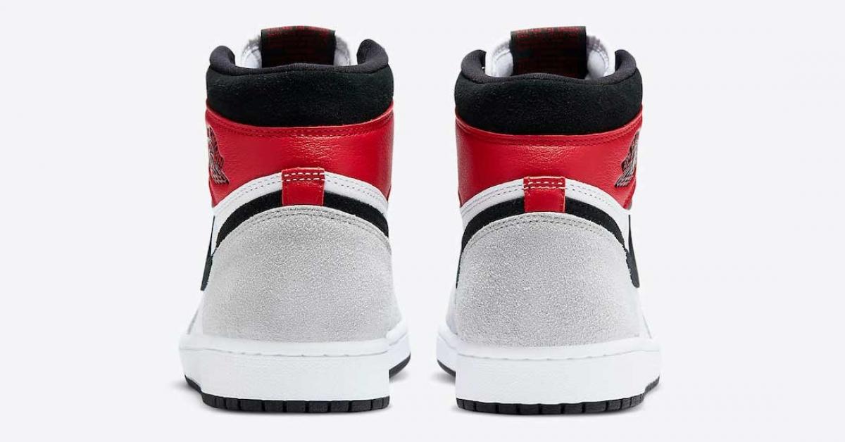 Nike Air Jordan 1 High Light Smoke Grey 555088-126