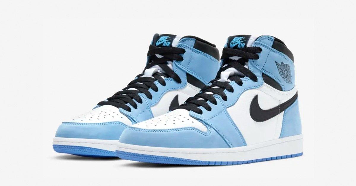 Nike Air Jordan 1 High Lyseblå