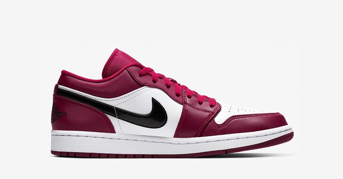 Nike Air Jordan 1 Low Noble Red 553558-604