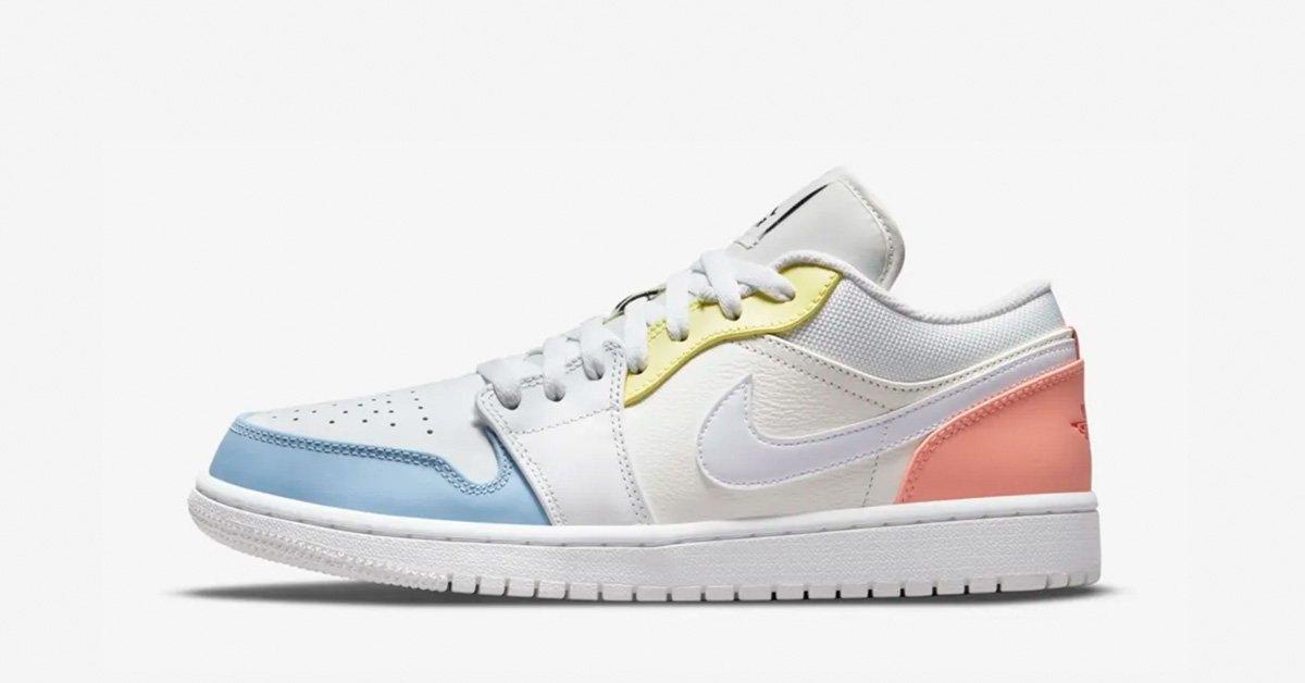 Nike Air Jordan 1 Low To My First Coach DJ6909-100