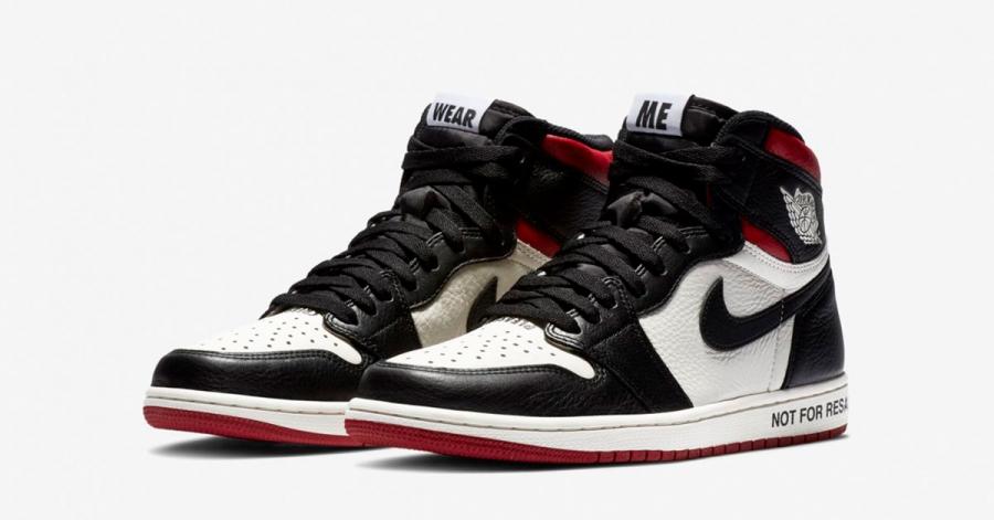 Nike Air Jordan 1 NRG Sail Varsity Red Black 861428-106