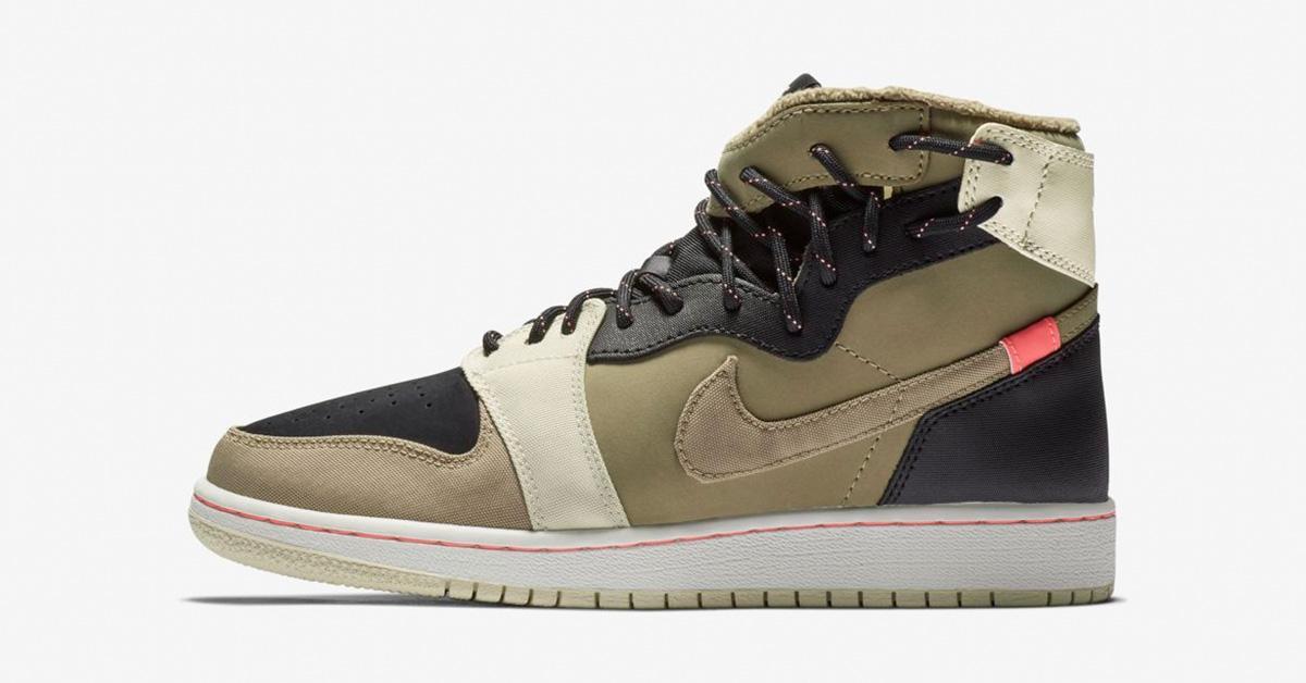Nike Air Jordan 1 Rebel XX Parachute Beige til kvinder BQ6481-200