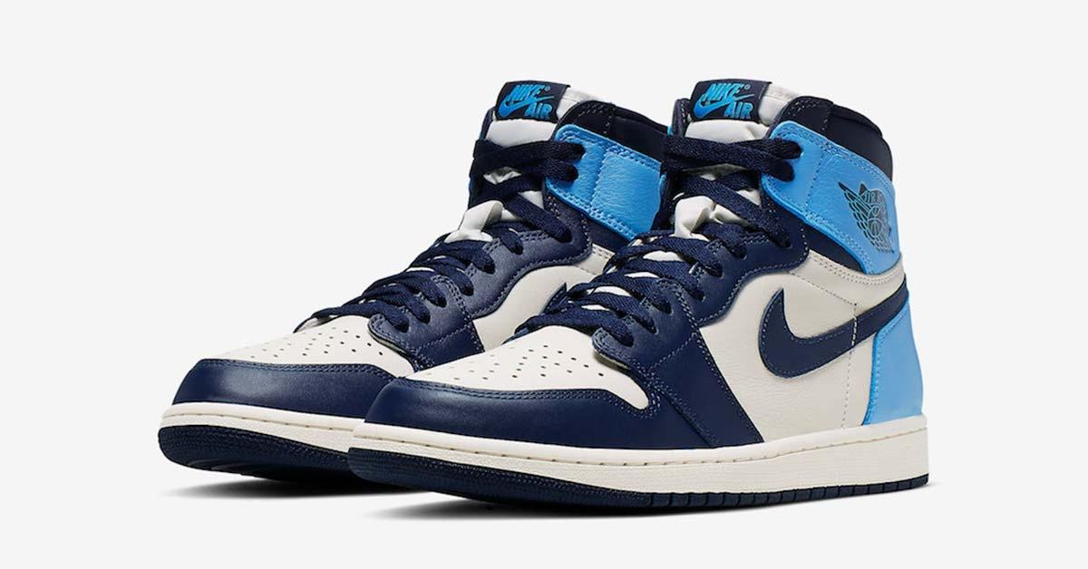 Nike Air Jordan 1 Retro High OG UNC Cool Sneakers