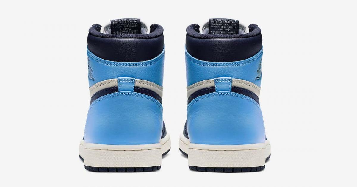Nike Air Jordan 1 Retro High OG UNC 555088-140
