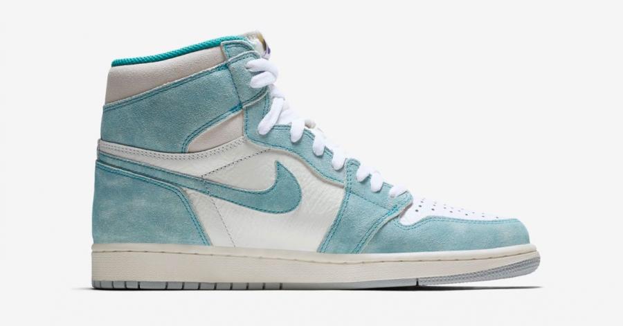 Nike Air Jordan 1 Retro High Turbo Green Cool Sneakers
